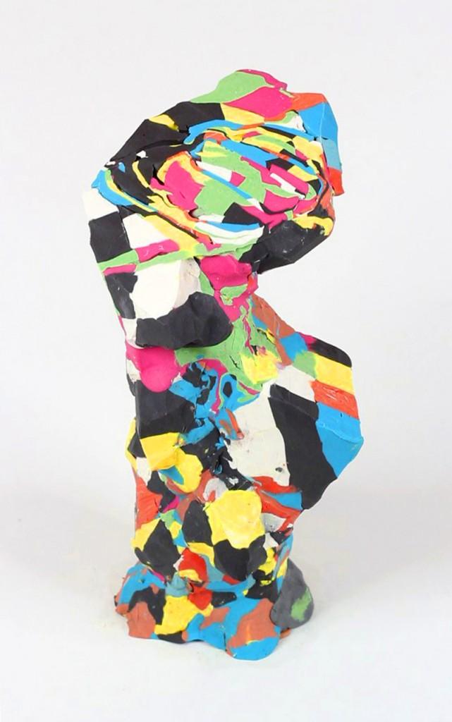 plastecine sculpture cubes2