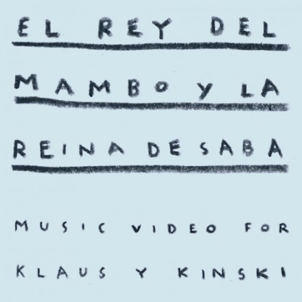 """El Rey del Mambo y la Reina de Saba"" music video"