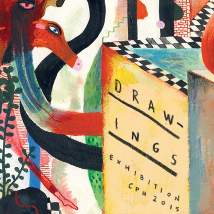 Drawing exhibition 2015
