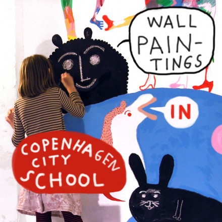 Wall paintings in Copenhagen City School