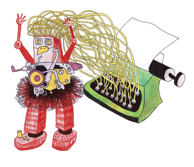writing machine robot