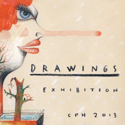 Drawing exhibition 2013