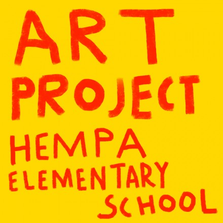 Mural art project in Hempa elementary school